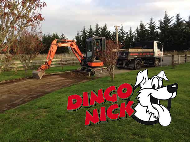 Landscaping & Earthmoving - Dingo Nick