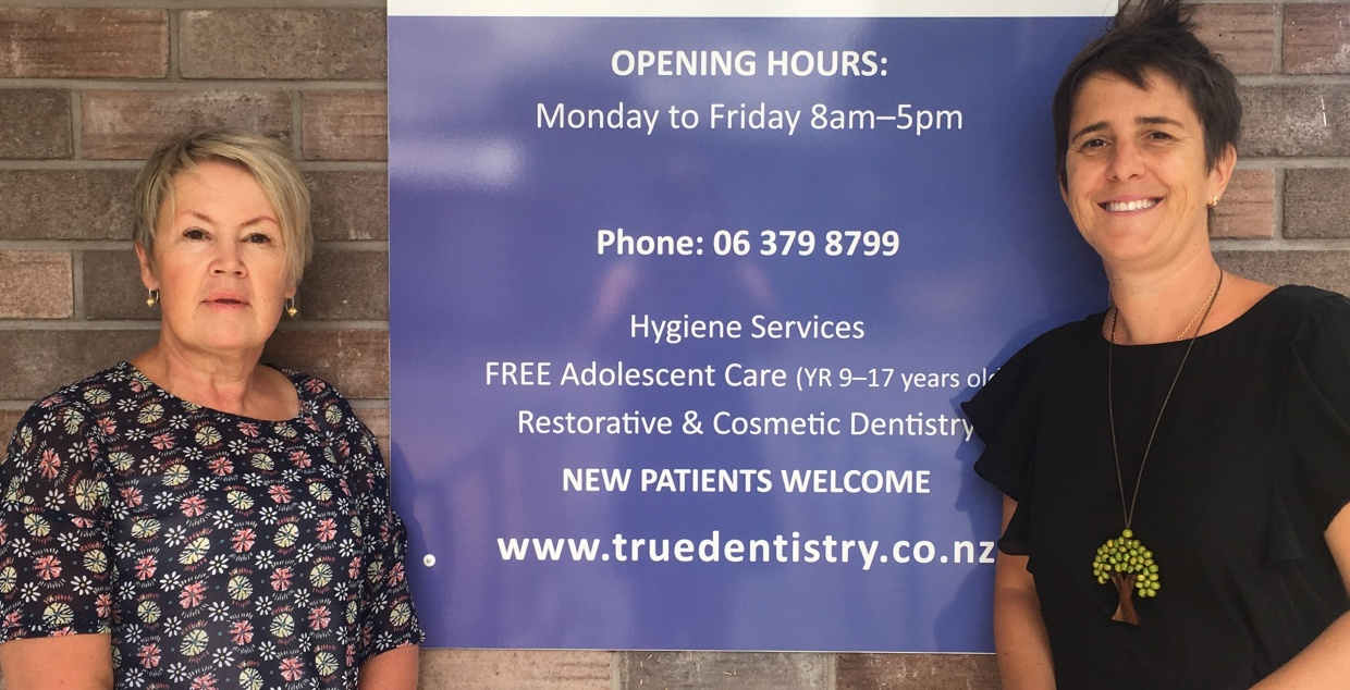 Trish Leabourne & Tiff Logan, True Dentistry